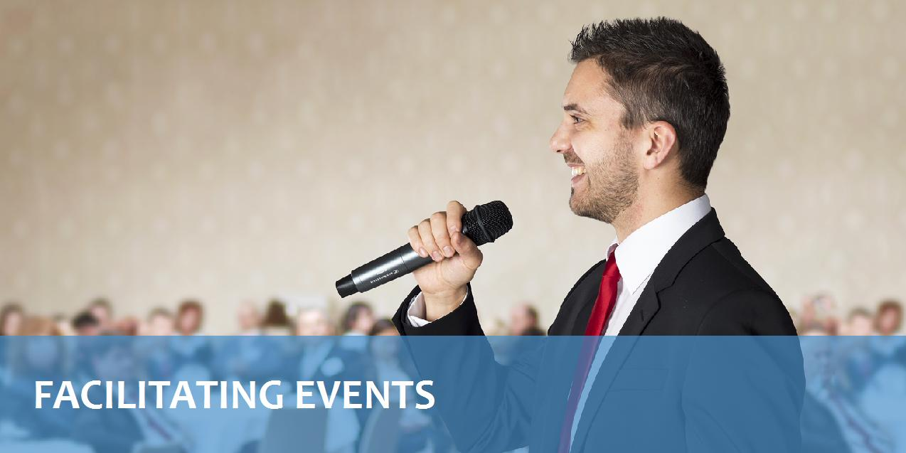 Facilitating events